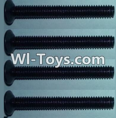 Wltoys 10428 Flat head inner hexagon Screws-M4X32-(4pcs),Wltoys 10428 Parts