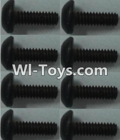 Wltoys 10428 Pan head inner hexagon Screws-M2X6-(8pcs),Wltoys 10428 Parts