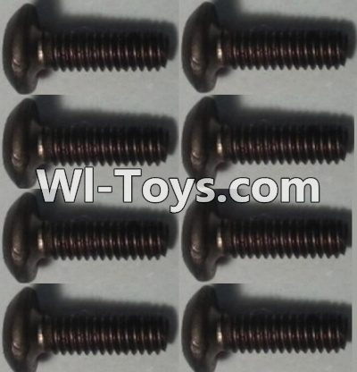Wltoys 10428 Pan head inner hexagon Screws-M2.5X6-(8pcs),Wltoys 10428 Parts