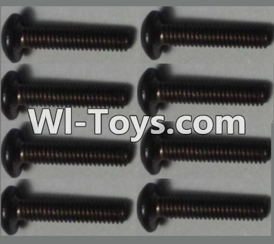 Wltoys 10428 Pan head inner hexagon Screws-M2.5X12-(8pcs),Wltoys 10428 Parts