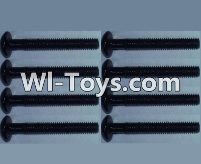 Wltoys 10428 Pan head inner hexagon Screws-M2.5X20-(8pcs),Wltoys 10428 Parts