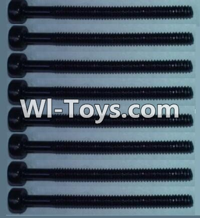 Wltoys 10428 Cup head inner hexagon Screws-M2X24 Parts-(8pcs),Wltoys 10428 Parts