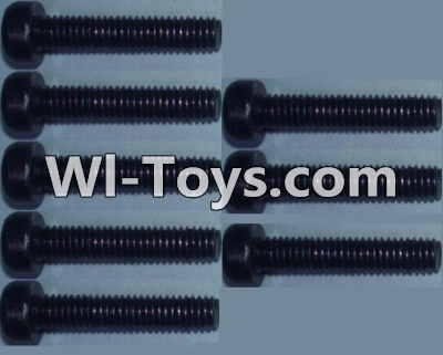 Wltoys K949 Cup head inner hexagon Screws-M2.5X12-(8pcs),Wltoys K949 Parts