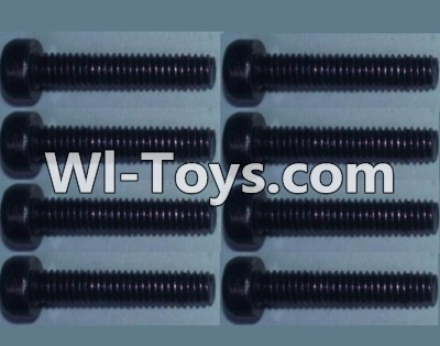 Wltoys K949 Cup head inner hexagon Screws-M2.5X20-(8pcs),Wltoys K949 Parts