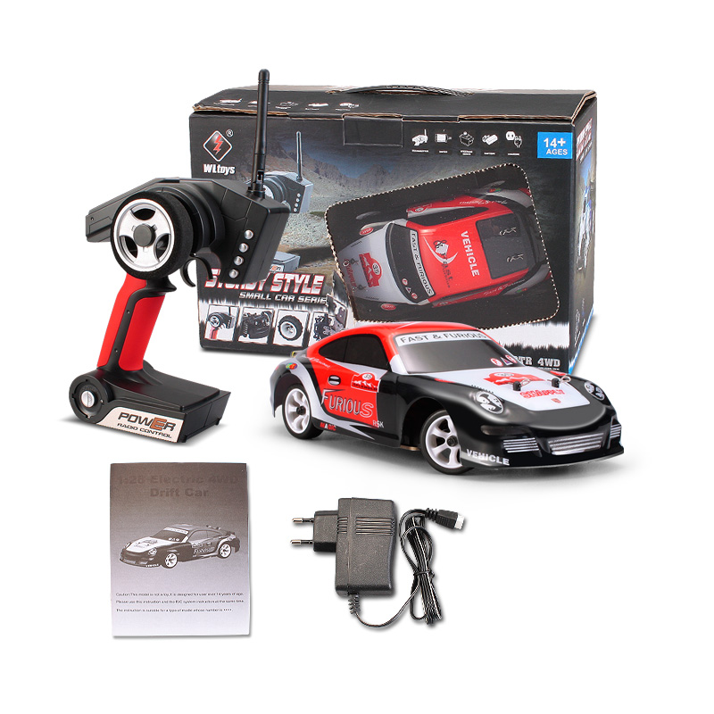 Wltoys K969 RC Car Wltoys K969 High speed 1/28 1:28 Full-scale rc racing car
