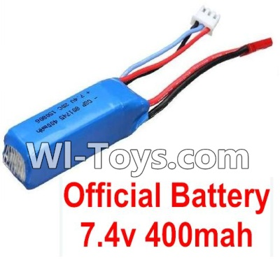 Wltoys K969 Battery-Official WLtoys 7.4V 400mAh Battery Battery,Wltoys K969 Battery Akku Parts