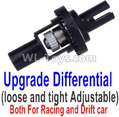 Wltoys K989 Upgrade Differential(loose and tight Adjustable)-Both For Racing and Drift car,Wltoys K989 Parts