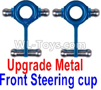 Wltoys K969 Upgrade Metal Front Steering Cup(2pcs),Wltoys K696 Parts