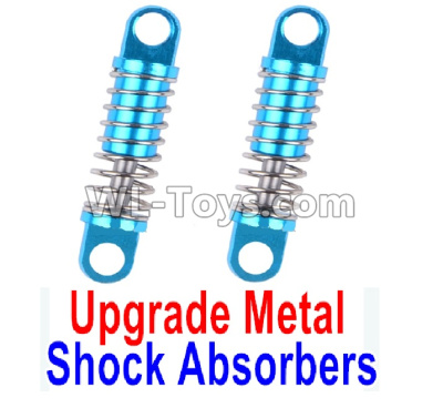 Wltoys K989 Upgrade Metal Shock Absorbers Parts(2pcs)-Blue,Wltoys K989 Parts