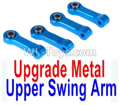 Wltoys K969 Upgrade Metal Upper Swing Arm(4pcs)-Blue,Wltoys K969 Parts