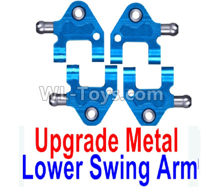 Wltoys P929 Upgrade Metal Lower Swing Arm Parts(4pcs)-Blue,Wltoys P929 Parts