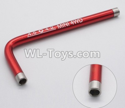 Wltoys P939 L-Shap wrench-Red,Wltoys P939 Parts