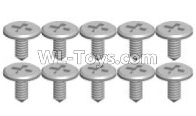 Wltoys P939 screws Parts(10pcs)-1.2X3.5SA-P939-13,Wltoys P939 Parts