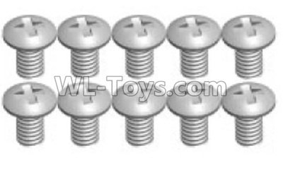 Wltoys P939 screws Parts(10pcs)-2X4PM-P939-14,Wltoys P939 Parts