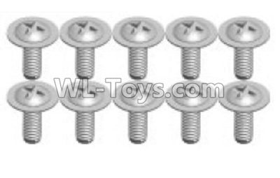 Wltoys P939 screws Parts(10pcs)-1.7X8PWA-P939-15,Wltoys P939 Parts