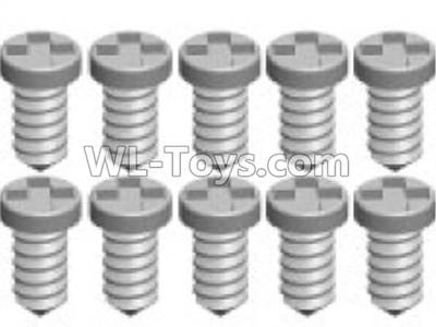 Wltoys K969 screws Parts(10pcs)-1.4X4PA-K989-20,Wltoys K696 Parts