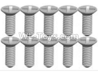 Wltoys P939 screws Parts(10pcs)-2X6KB-P939-21,Wltoys P939 Parts