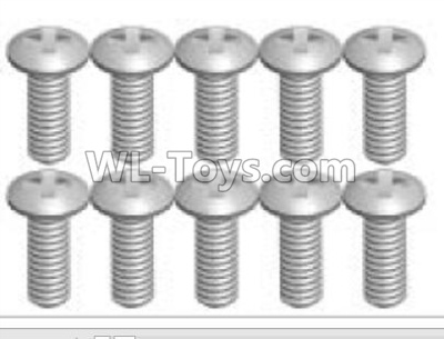 Wltoys P939 screws Parts(10pcs)-2X5KB-P939-22,Wltoys P939 Parts