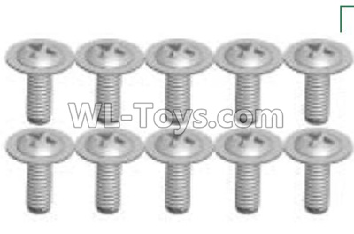 Wltoys P939 screws Parts(10pcs)-2X6PWB-P939-23,Wltoys P939 Parts