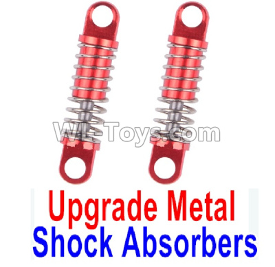 Wltoys K969 Upgrade Metal Shock Absorbers(2pcs)-Red,Wltoys K969 Parts