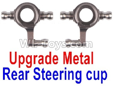 Wltoys P939 Upgrade Metal Rear Steering Cup Parts(2pcs)-Gray,Wltoys P939 Parts