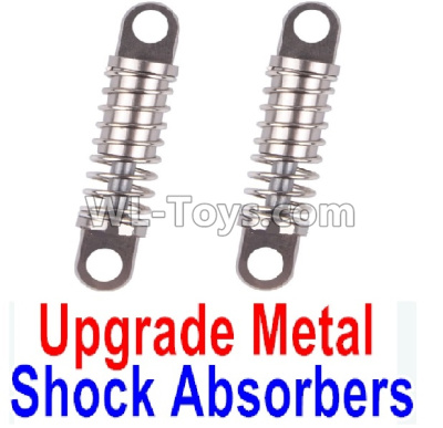 Wltoys K969 Upgrade Metal Shock Absorbers(2pcs)-Gray,Wltoys K969 Parts