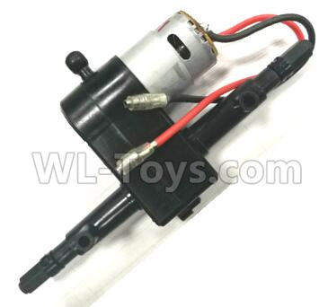Wltoys L209 1550 Rear gearbox assembly(Include the Motor),Wltoys L209 Parts