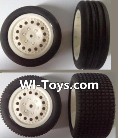 Wltoys L303 Front wheel(2pcs) & Rear wheel-(2pcs),Wltoys L303 Parts