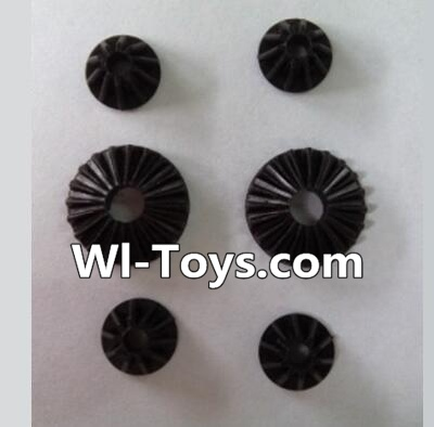 Wltoys L303 Motor Speed Control Planet Gear(2pcs Big & 4pcs small) Parts,Wltoys L303 Parts