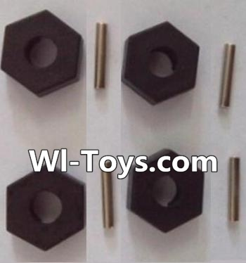 Wltoys L303 Hexagonal round seat,Hexagon Wheel seat Parts Parts-(4pcs),Wltoys L303 Parts