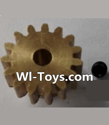 Wltoys L303 P949-26 15T Motor Gear(15 Teeth)-hole diameter 3.17mm,M-0.8 Parts,Wltoys L303 Parts