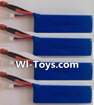 Wltoys L303 Battery Parts-7.4v 2500mah 25c Battery Parts-(4pcs),Wltoys L303 Parts