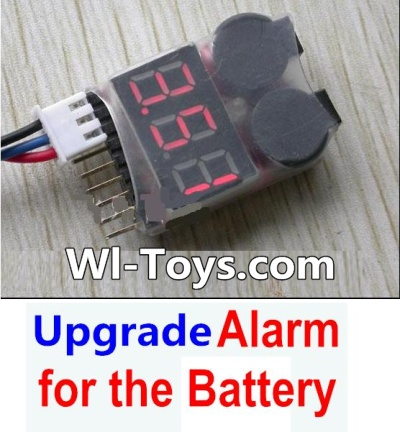 Wltoys L303 Upgrade Alarm for the Battery,Can test whether your battery has enouth power Parts,Wltoys L303 Parts