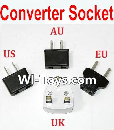 Wltoys L303 Standard Adapter Universal Converter Socket(You can shoose AU,US,EU,UK Version) Parts,Wltoys L303 Parts