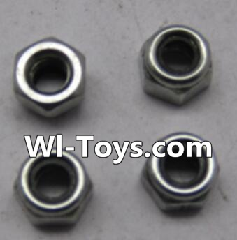 Wltoys L303 L959-65 M4 lock nut Parts-(4pcs),Wltoys L303 Parts