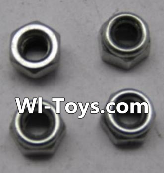 Wltoys L303 K949-108 M2.5 lock nut Parts-(4pcs),Wltoys L303 Parts