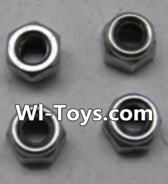 Wltoys L303 A929-95 M3 Lock nut Parts-(4pcs),Wltoys L303 Parts