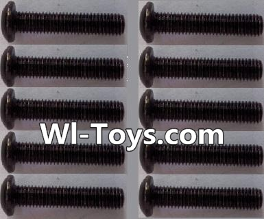 Wltoys L303 A929-72 pan head Hexagon head screws Parts(10pcs)-M3x16TMHO Parts,Wltoys L303 Parts