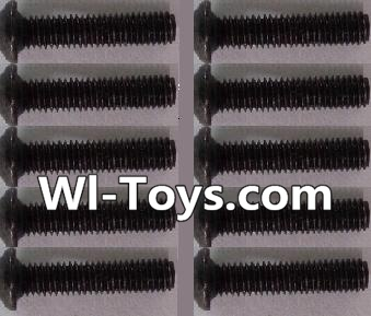 Wltoys L303 A929-73 pan head Hexagon head screws Parts(10pcs)-M3x14TMHO Parts,Wltoys L303 Parts