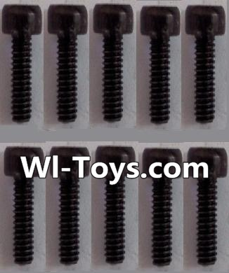 Wltoys L303 K939-63 Cup head Hexagon machine screws Parts(10pcs)-M3x8 Parts,Wltoys L303 Parts