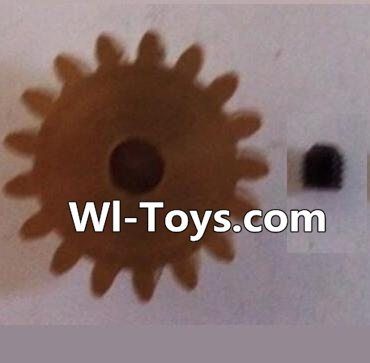 Wltoys L323 17T Motor Gear(17 Teeth)-hole diameter 3.17mm,M-0.8 Parts,Wltoys L323 Parts