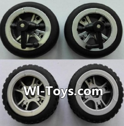 Wltoys L333 Front wheel unit(2pcs) & Rear Wheel unit-(2pcs),Wltoys L333 Parts