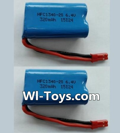 Wltoys L333 Battery Parts-6.4V Lithium-iron battery-(2pcs),Wltoys L333 Parts