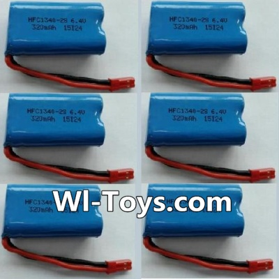 Wltoys L333 Battery Parts-6.4V Lithium-iron battery Parts-(6pcs),Wltoys L333 Parts