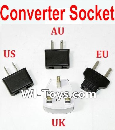 Wltoys L333 Standard Adapter Universal Converter Socket(You can shoose AU,US,EU,UK Version),Wltoys L333 Parts