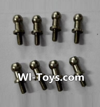 Wltoys L333 inner hexagon Ball head screws Parts(8pcs)-3.5×M2.0×10.5,Wltoys L333 Parts