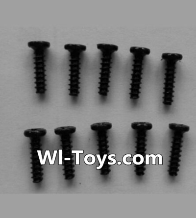 Wltoys L333 Round head self-tapping screws Parts(10pcs)-M2X8,Wltoys L333 Parts