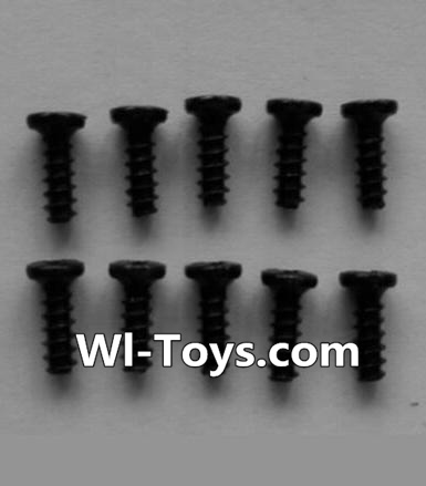 Wltoys L333 Round head self-tapping screws Parts(10pcs)-M2X6,Wltoys L333 Parts