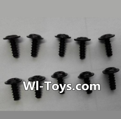 Wltoys L333 Round head self-tapping screws Parts with mediator(10pcs)-M2X6-mediator 5,Wltoys L333 Parts