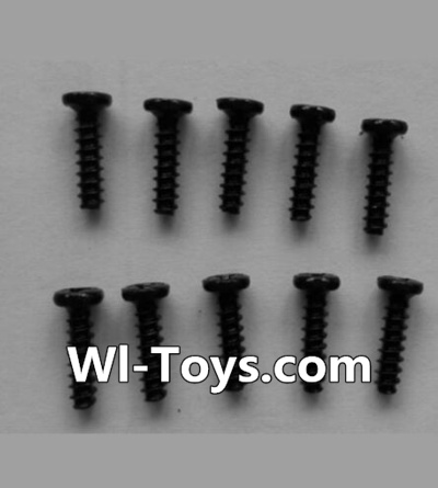 Wltoys L353 Round head self-tapping screws Parts(10pcs)-M2X8,Wltoys L353 Parts